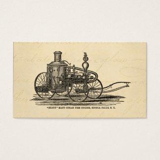 Vintage 1800s Steam Fire Engine Antique Fire Truck