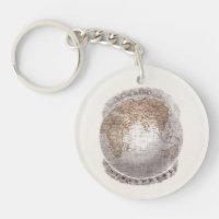 Globe key rings globe key ring designs zazzle vintage 1800s world map eastern hemisphere globe gumiabroncs Gallery