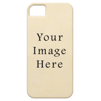 Vintage 1817 Cream Beige White Parchment Paper iPhone 5 Covers