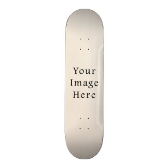 Vintage 1817 Cream Beige White Parchment Paper Skateboard Deck