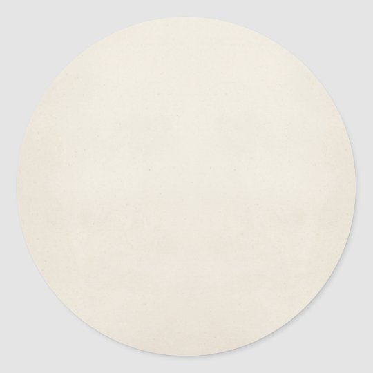 Vintage 1817 Parchment Paper Template Blank Classic Round