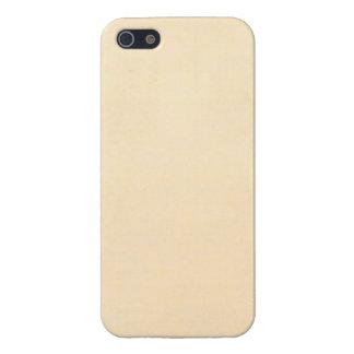 Vintage 1817 Parchment Paper Template Blank iPhone 5/5S Cases