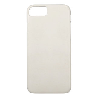 Vintage 1817 Parchment Paper Template Blank iPhone 7 Case