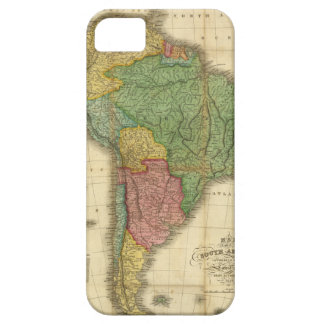 Vintage 1826 South America Map by Anthony Finley iPhone 5 Cover