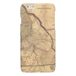 Vintage 1841 Pacific Northwest Map iPhone 6 Plus Case
