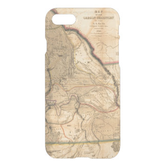 Vintage 1841 Pacific Northwest Map iPhone 7 Case