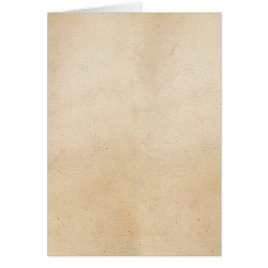 Vintage 1850 Parchment Paper Template Blank
