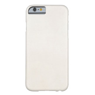 Vintage 1850 Parchment Paper Template Blank Barely There iPhone 6 Case