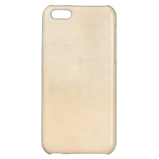 Vintage 1850 Parchment Paper Template Blank iPhone 5C Covers