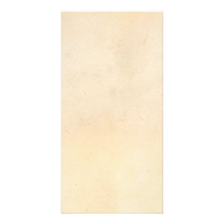 Vintage 1850 Parchment Paper Template Blank Personalized Photo Card