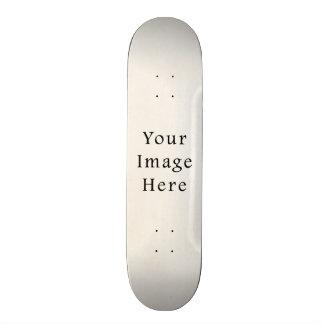 Vintage 1850s White Parchment Paper Background Skate Board Deck