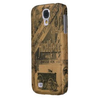 Vintage 1885 Collage Ads Case-Mate HTC Vivid Tough Galaxy S4 Case