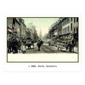 Vintage 1890 Perth Australia Post Cards