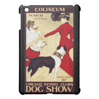 Vintage 1890's Kennel Club Dog Show Retro iPad Mini Cases
