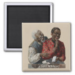 Vintage 1895 Cigar Ad African American Magnet