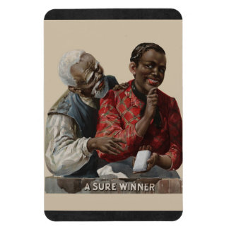 Vintage 1895 Cigar Ad African American Rectangular Photo Magnet