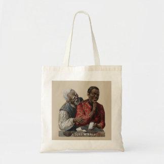 Vintage 1895 Cigar Ad African American Budget Tote Bag