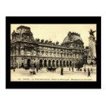 Vintage 1905 Louvre, Paris, France Postcards
