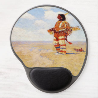 Vintage 1908 The Last of His Race Gel Mouse Pad