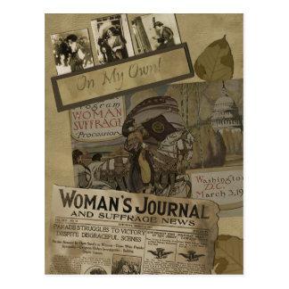 Vintage 1913 Women s Suffrage Postcard