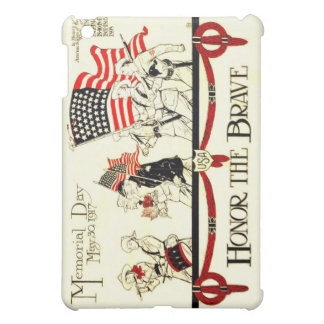 Vintage 1917 Memorial Day Poster iPad Mini Case