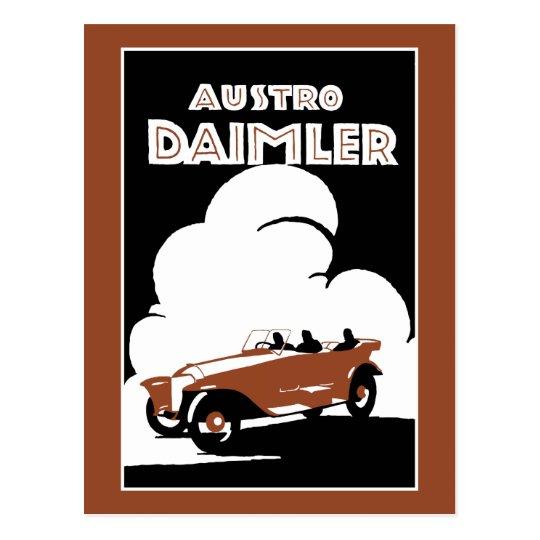 Vintage 1918 Classic car advertisement Postcard