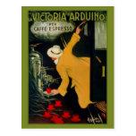 Vintage 1920s Italian coffee machine ad Postcards