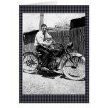 Vintage 1920s Motorcycle