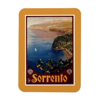 Vintage 1920s Sorrento Italian travel Magnet