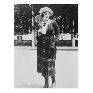 Vintage 1920s Tennis Fashion Post Cards