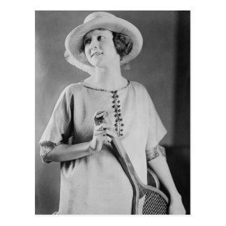 Vintage 1920s Tennis Fashion Postcards