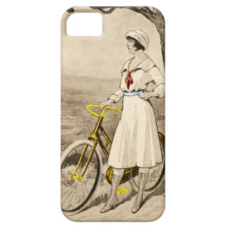 Vintage 1920s Woman Bicycle Advertisement Case For The iPhone 5