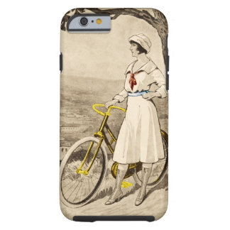 Vintage 1920s Woman Bicycle Advertisement Tough iPhone 6 Case