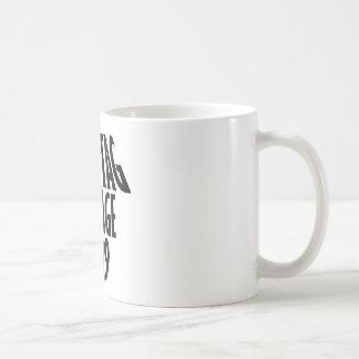 Vintage 1929 design coffee mug