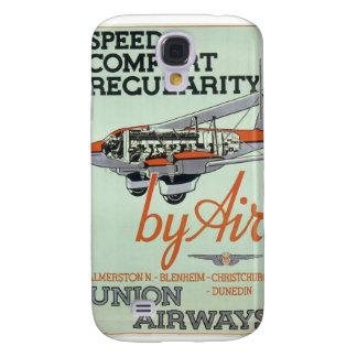 Vintage 1930s Airline Galaxy S4 Case