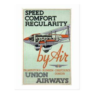 Vintage 1930s Airline Postcards