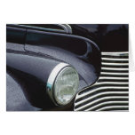 Vintage 1930s Classic Car Grill Photo Card