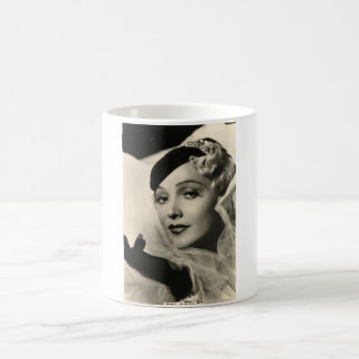 Vintage 1930s Film Star Pinup Mug
