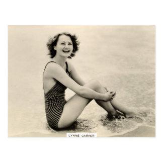 Vintage 1930s Film Star Portrait Postcard