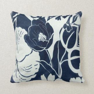 Vintage 1930s Floral Print Cushion