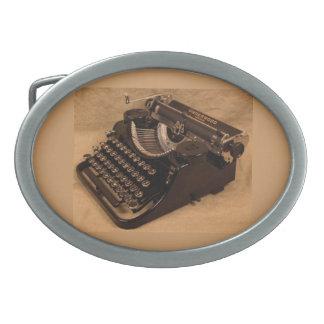 Vintage 1937 Underwood Typewriter Belt Buckle