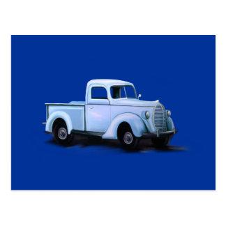 Vintage 1939 Truck Post Card
