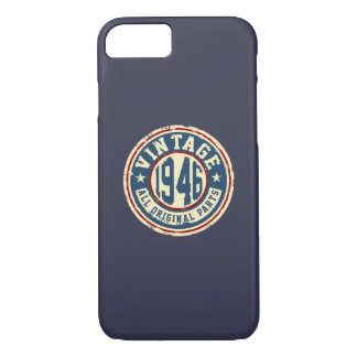 Vintage 1946 All Original Parts iPhone 7 Case