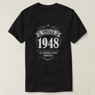 Vintage 1948 funny 70th Birthday Men's Shirt