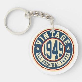 Vintage 1949 All Original Parts Key Ring