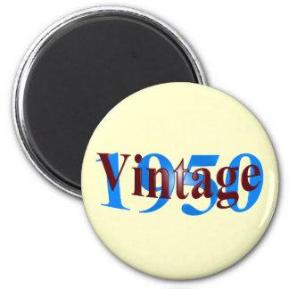 Vintage 1950 6 cm round magnet