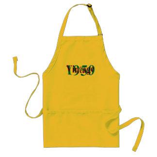 Vintage 1950 standard apron
