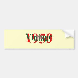 Vintage 1950 bumper stickers