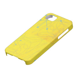 Vintage 1950s Atomic Age Pattern iPhone Case iPhone 5 Covers
