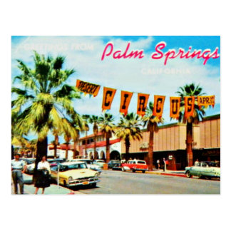 Vintage 1950s Palm Springs Postcard
